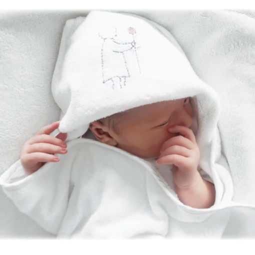 Large Bamboo Baby Hooded Towel Harry & Rose