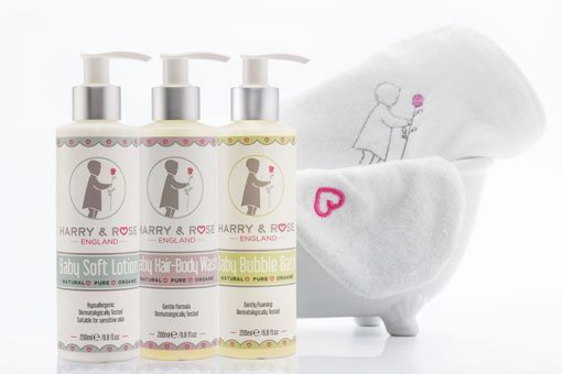 Harry & Rose Baby skin care range