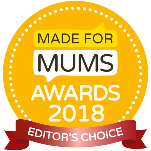Editor's choice Award winning Made for Mums