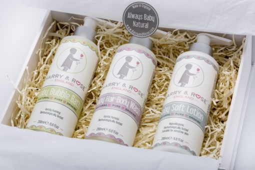 Baby Skincare Gift Set - Harry & Rose