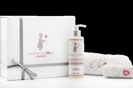 Harry & Rose Luxury Baby Bath Gift Set
