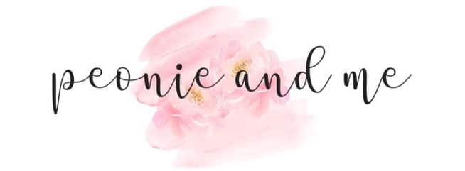 Peonie and Me Logo