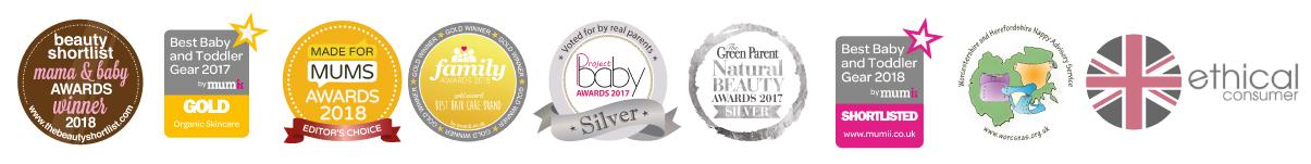 Award winning Luxury Baby Skincare range